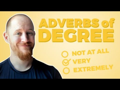 adverbs of degree, Adverbs of Degree – Chinese Adverbs