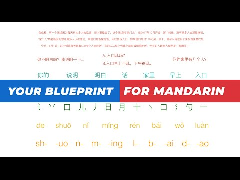 Seriously Excellent MANDARIN Learning Blueprint
