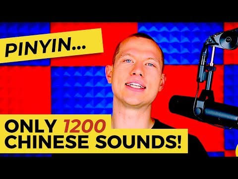 """The Chinese Alphabet Called """"Pinyin"""" - So Few Sounds!"""