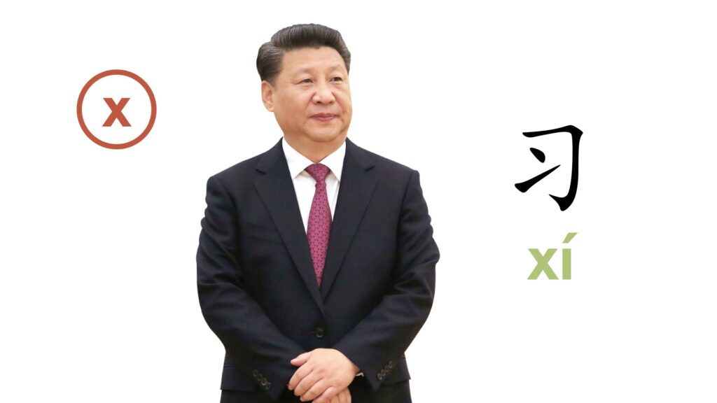 Chinese Letter J, Q & X