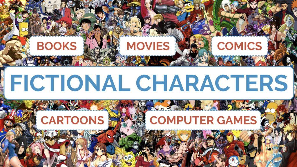 Pinyin Initials: Fictional Characters