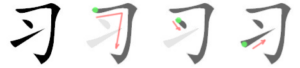 Chinese Character 习