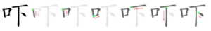 Chinese character 吓